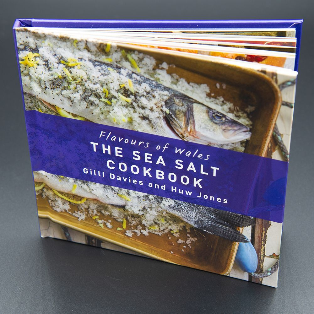 "Image Description of ""Flavours of Wales – The Sea Salt Cookbook""."