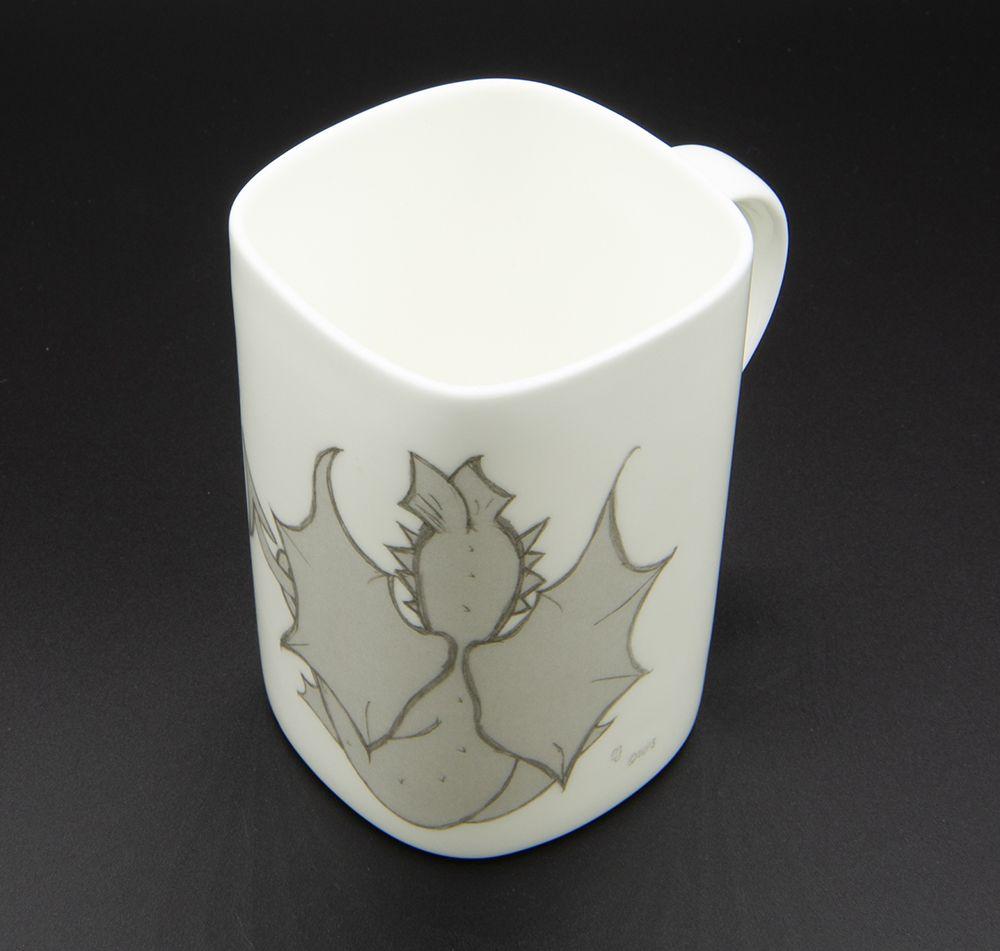 """Image Description of """"Welsh Connection Dewi dragon mug""""."""