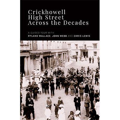 "Image Description of ""Crickhowell High Street Across the Decades""."