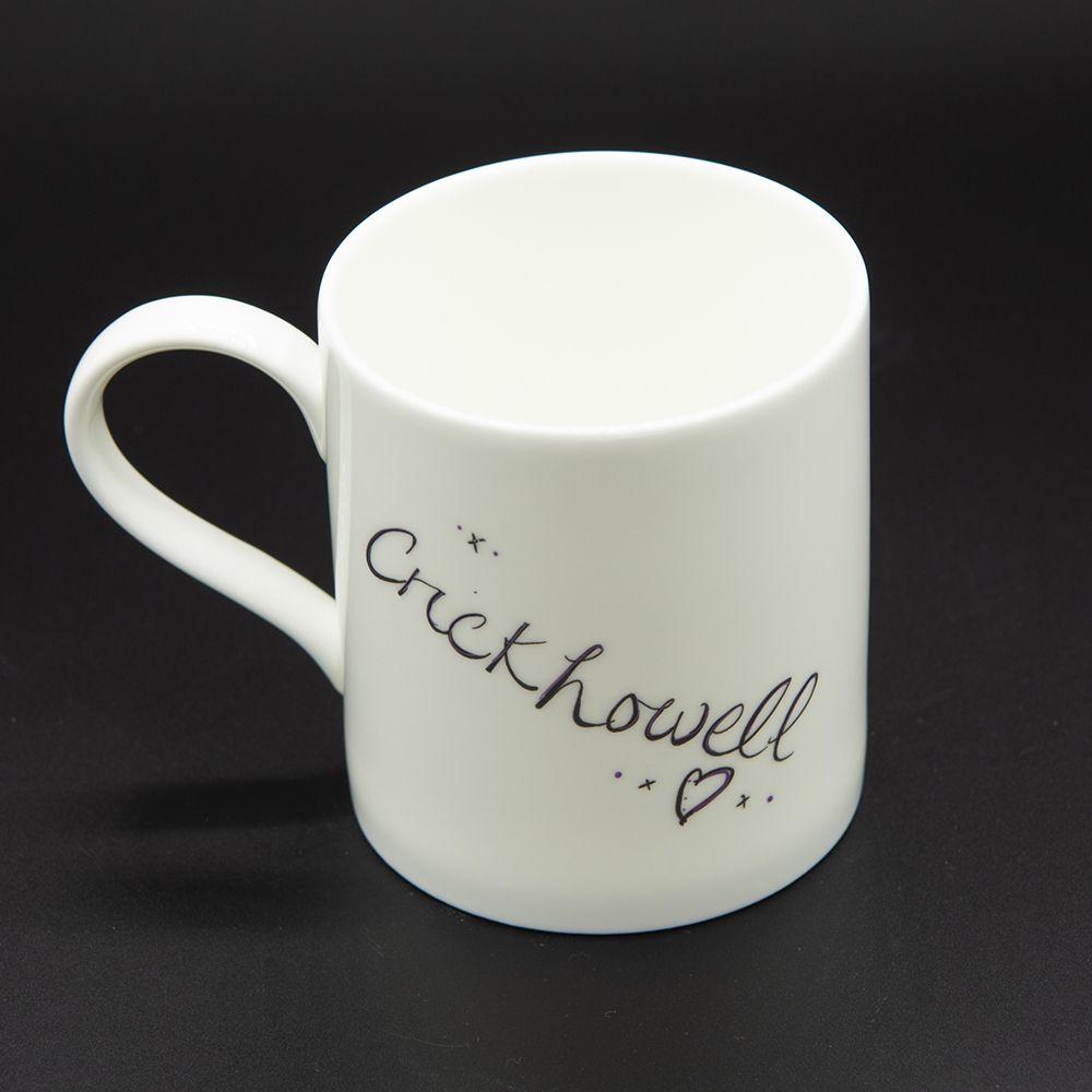 """Image Description of """"Welsh Connection Crickhowell mug""""."""