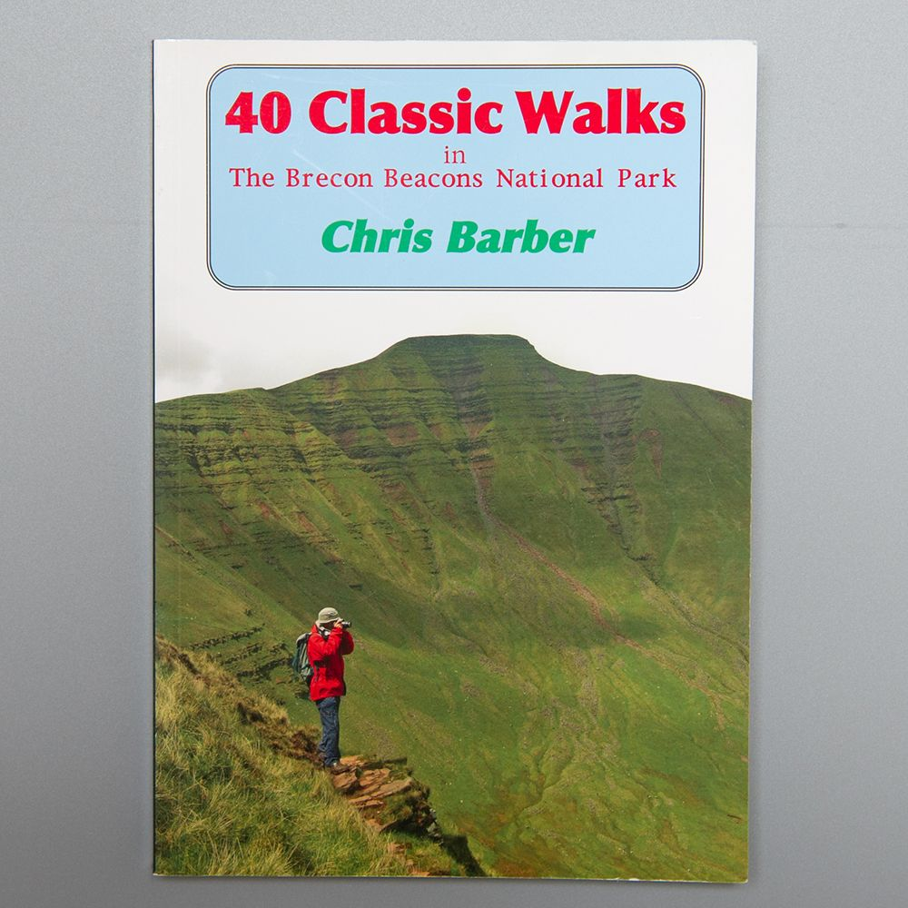 """Image Description of """"40 Classic Walks in the Brecon Beacons National Park""""."""