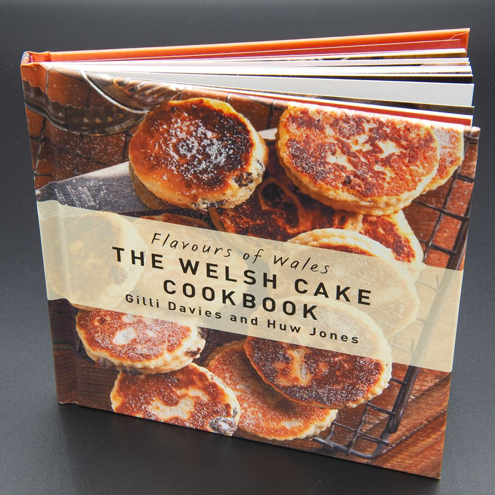 """Image Description of """"Flavours of Wales – The Welsh Cake Cookbook""""."""
