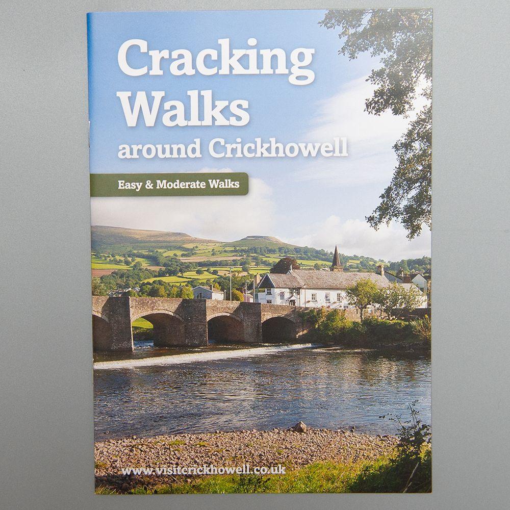"Image Description of ""Cracking Walks Around Crickhowell - Easy & Moderate""."