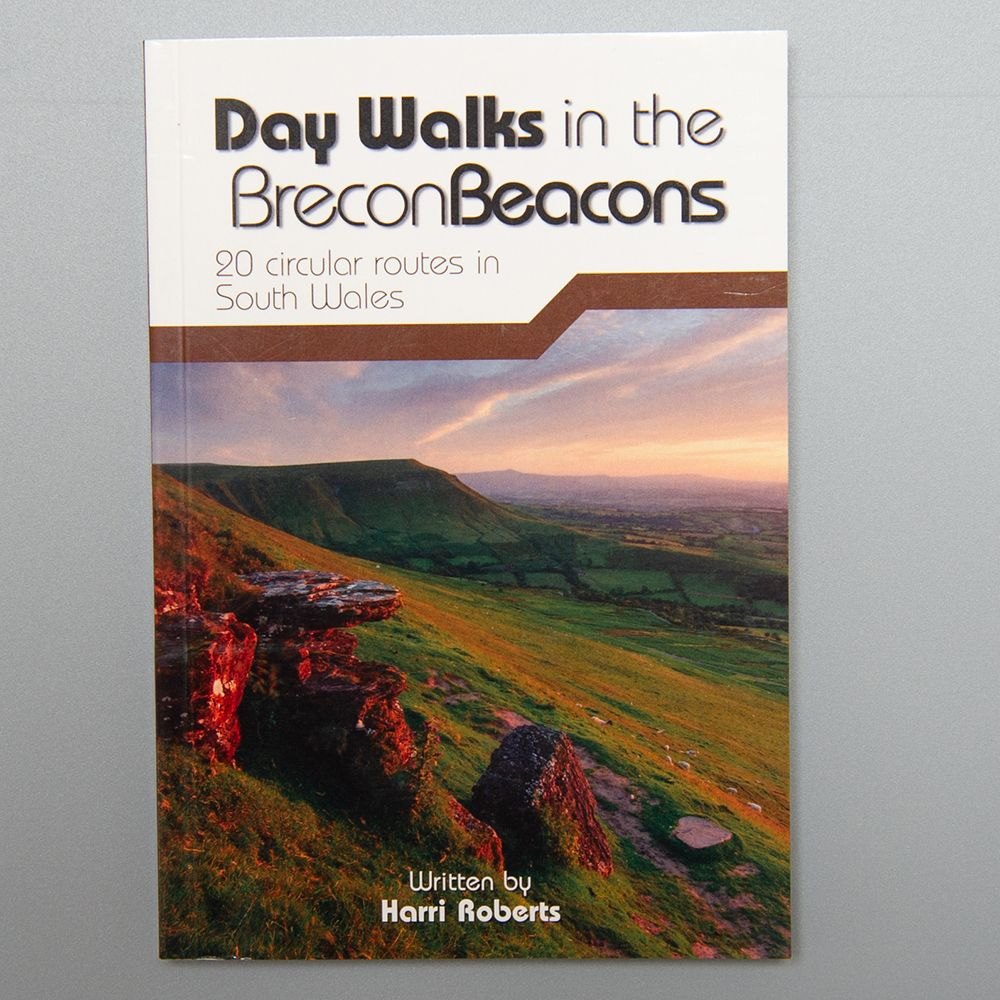 """Image Description of """"Day Walks in the Brecon Beacons""""."""