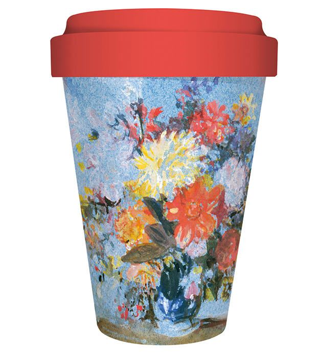 "Image Description of ""Bamboo Travel Mug - ""."