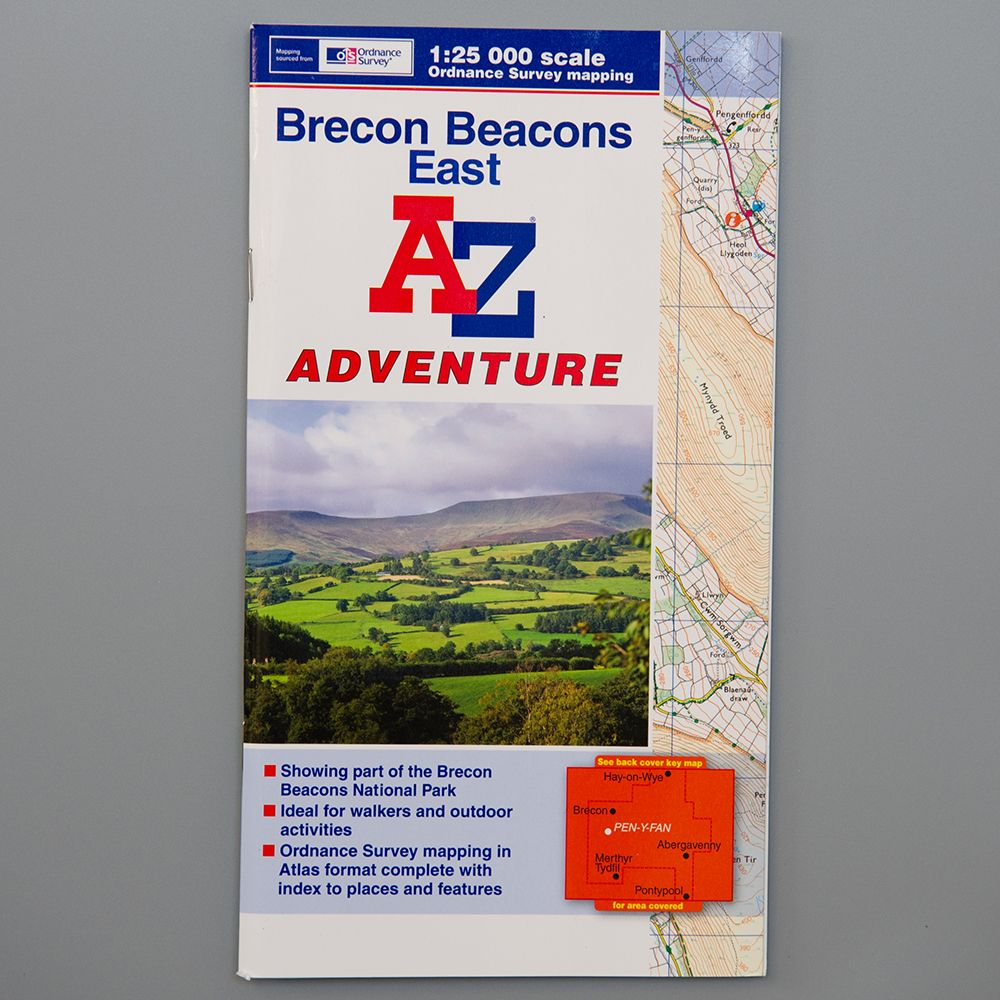 "Image Description of ""A-Z Adventure – Brecon Beacons East""."